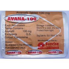 Avana  4x100 mg