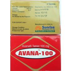 Стендра( аванафил)  - Авана 100