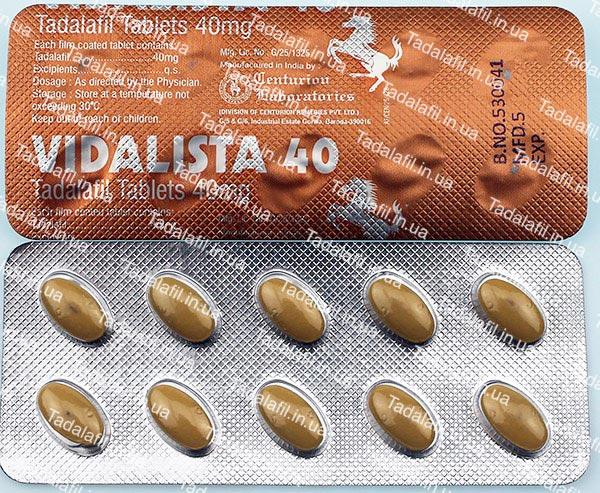 Препарат сиалис 40 мг - тадалафил 40