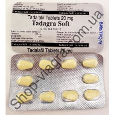 Тадагра софт 5x20 мг
