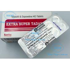 Тадалафил с дапоксетином (Extra Super Tadarise)