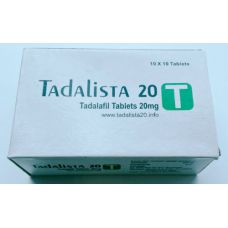 Tadalista 50х20 мг