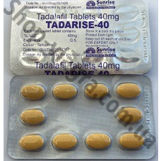 Дженерик сиалиса 40 мг - Tadarise 40
