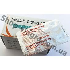 Тадасофт 40 мг - 50 таблеток