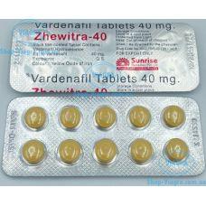 Zhewitra 40 - 50 таблеток